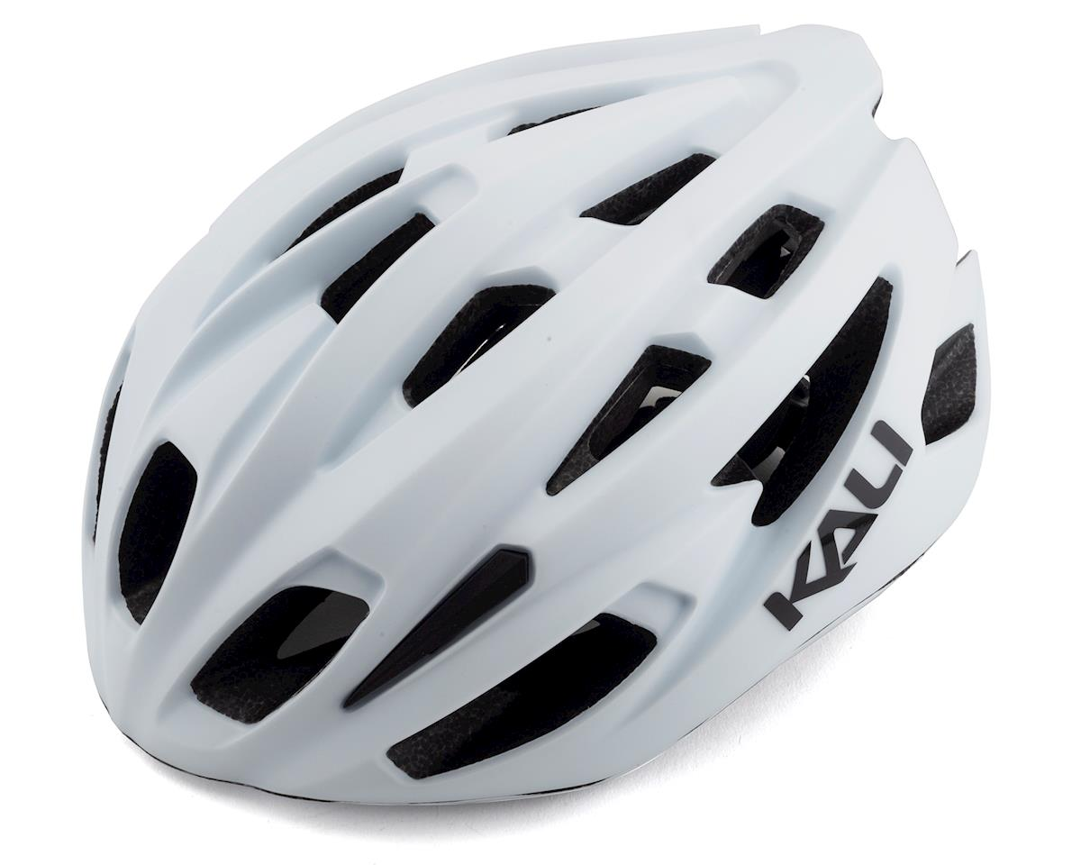 Kali Therapy Helmet (Solid Matte White) (L/XL)