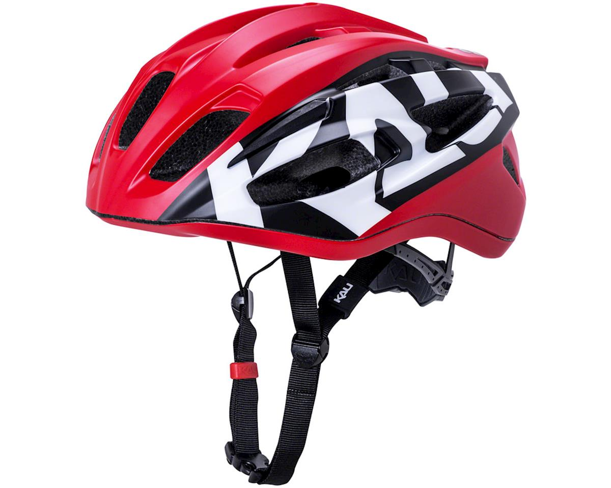Image 1 for Kali Therapy Helmet (Century Matte Red/Black) (L/XL)