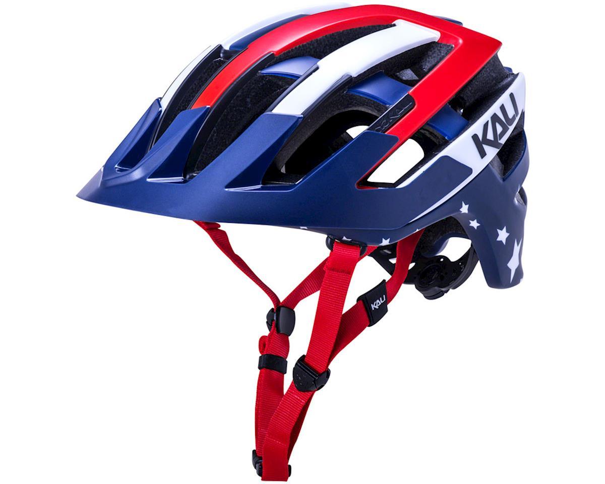 Kali Interceptor Helmet (Patriot Red/White/Blue) (L/XL)