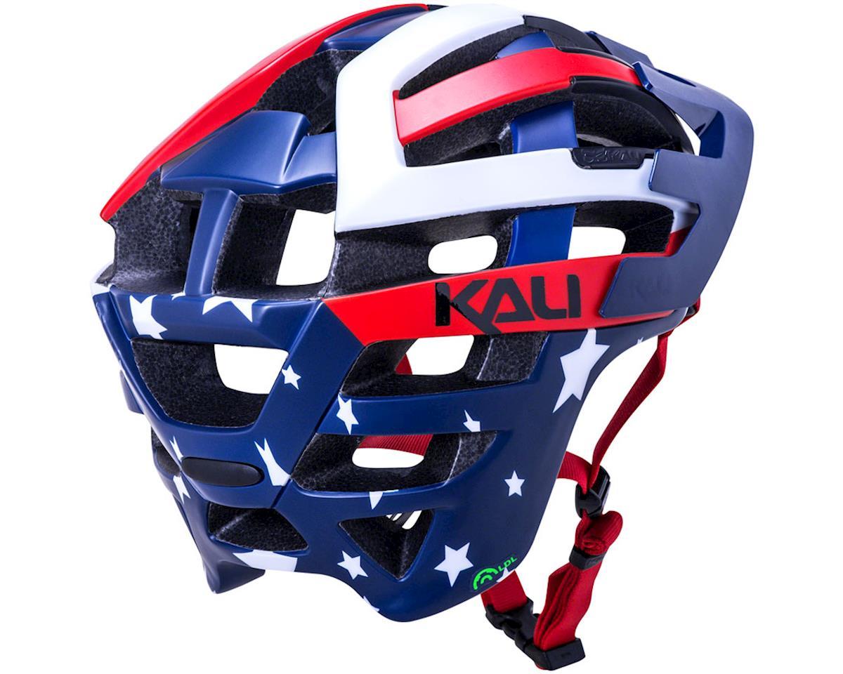 Image 3 for Kali Interceptor Helmet (Patriot Red/White/Blue) (L/XL)