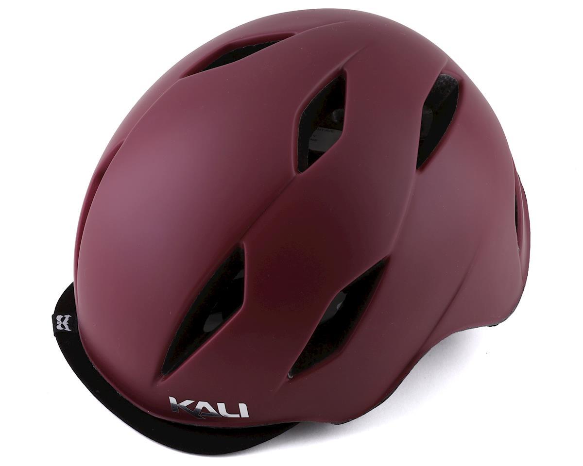 Kali Danu Helmet (Solid Matte Berry)