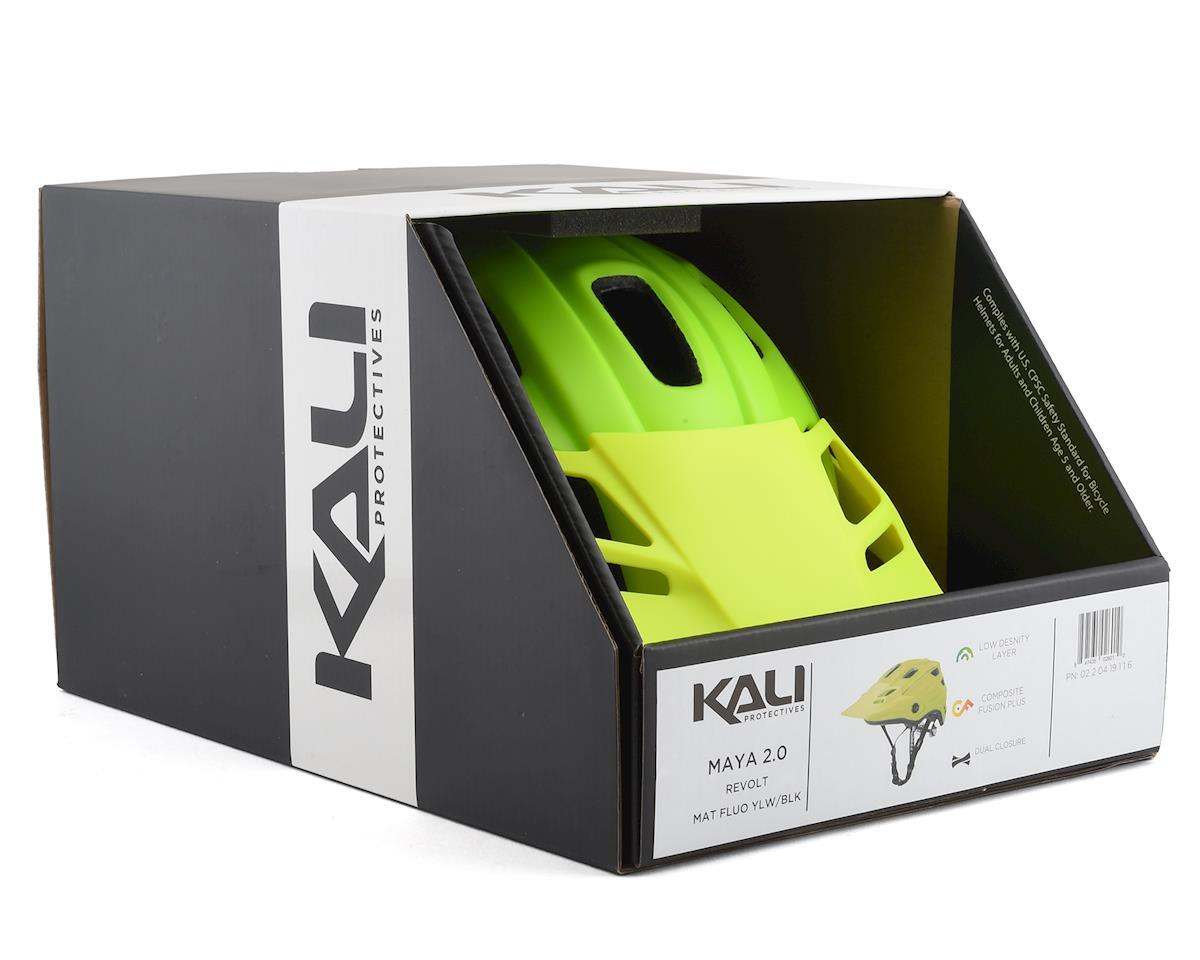 Kali Maya 2.0 Helmet (Yellow/Black) (S/M)