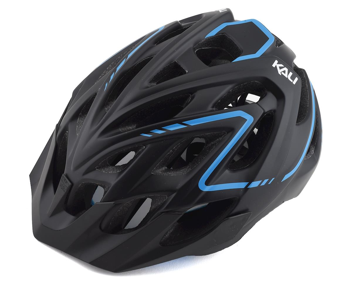 Kali Chakra Plus Helmet (Matte Black/Blue) (L/XL)
