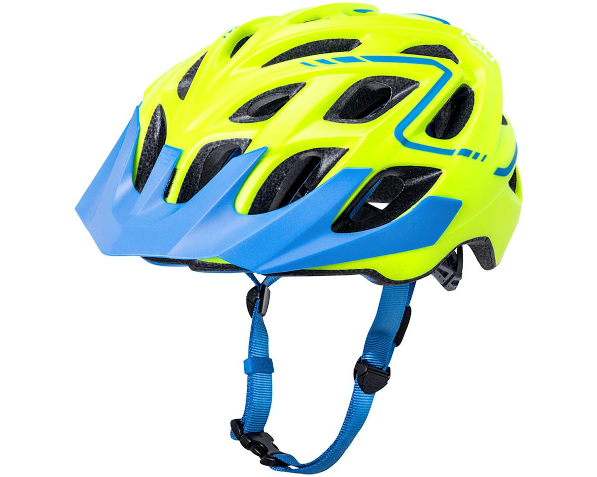 Kali Chakra Plus Reflex Helmet (Matte Yellow/Blue) (L/XL)