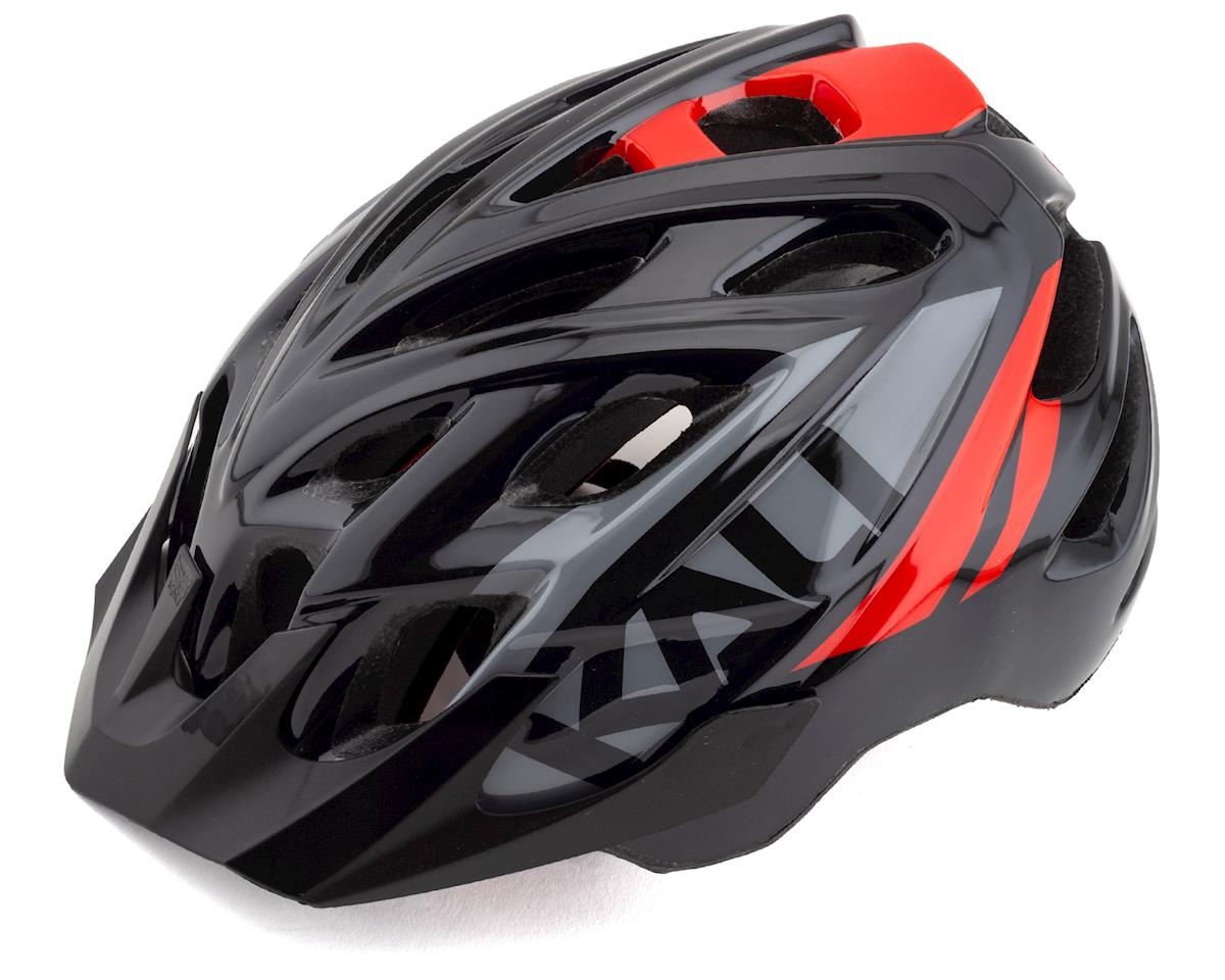 Kali Chakra Youth Snap Helmet (Gloss Black/Red) (Universal Youth)