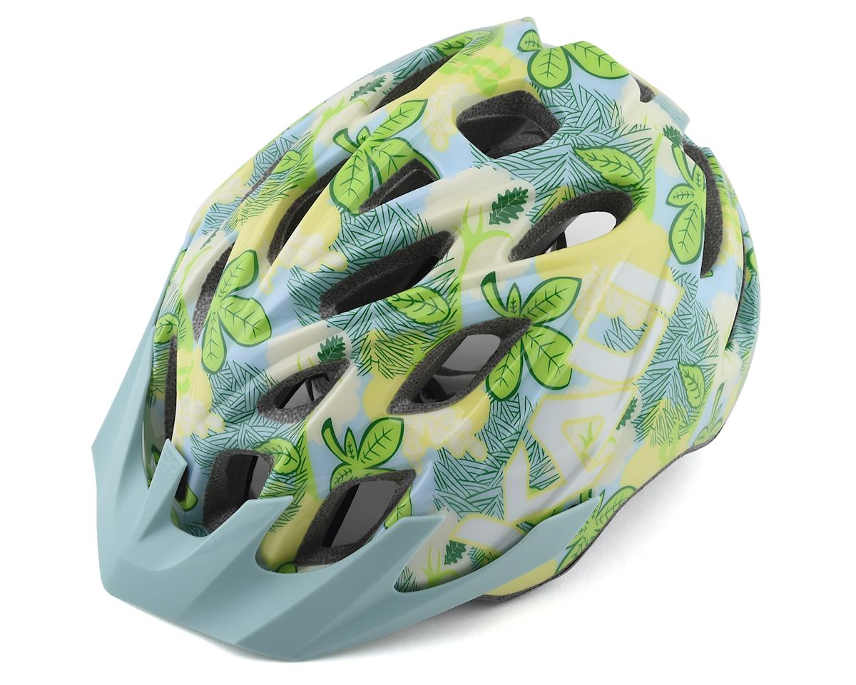 Kali Chakra Youth Helmet (Floral Gloss Blue) (Universal Youth)