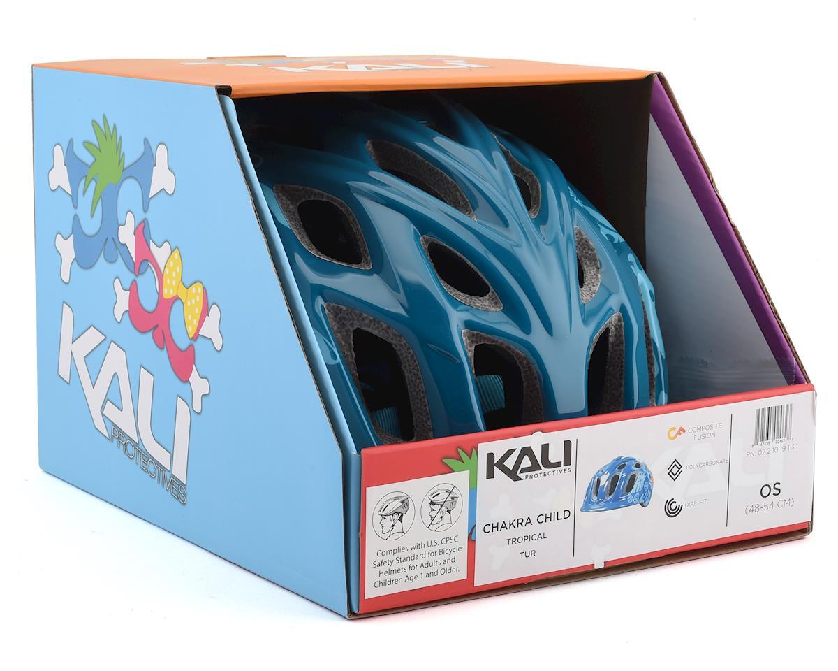 Kali Chakra Child Helmet (Tropical Turquoise) (Universal Youth)