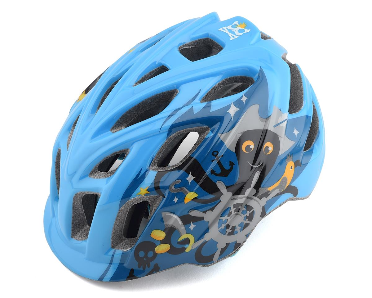 Kali Chakra Child Helmet (Pirate Blue) (One Size)