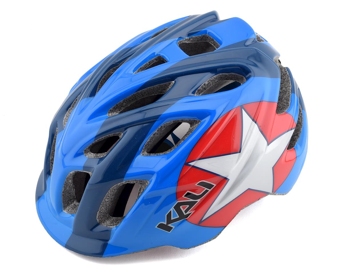 Kali Chakra Child Helmet (Star Blue/Red) (One Size)