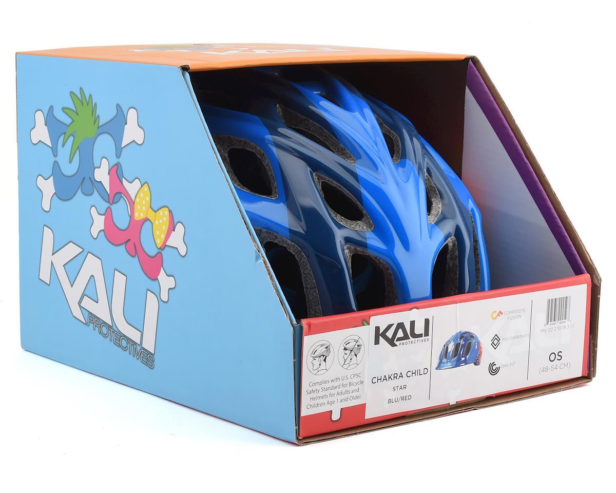 Kali Chakra Child Helmet (Star Blue/Red) (One Size)