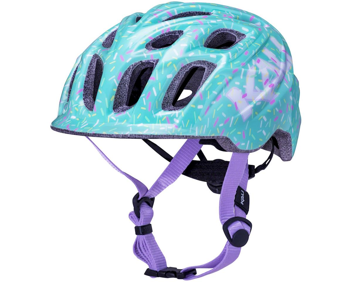 Image 1 for Kali Chakra Child Helmet (Sprinkle Mint) (XS)