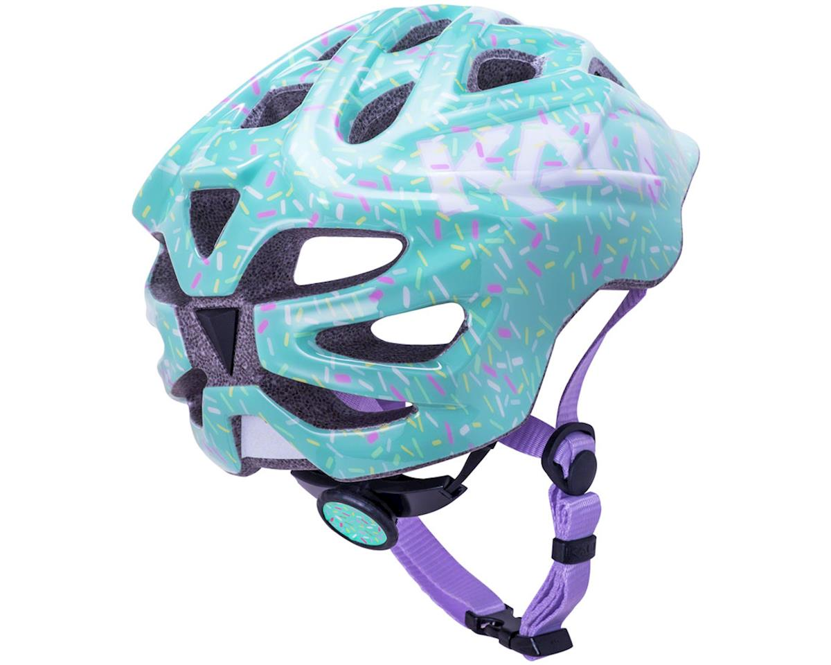 Image 3 for Kali Chakra Child Helmet (Sprinkle Mint) (XS)