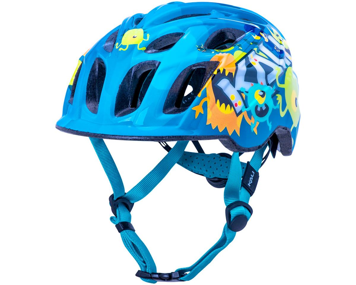 Kali Chakra Child Helmet (Monsters Blue) (XS)