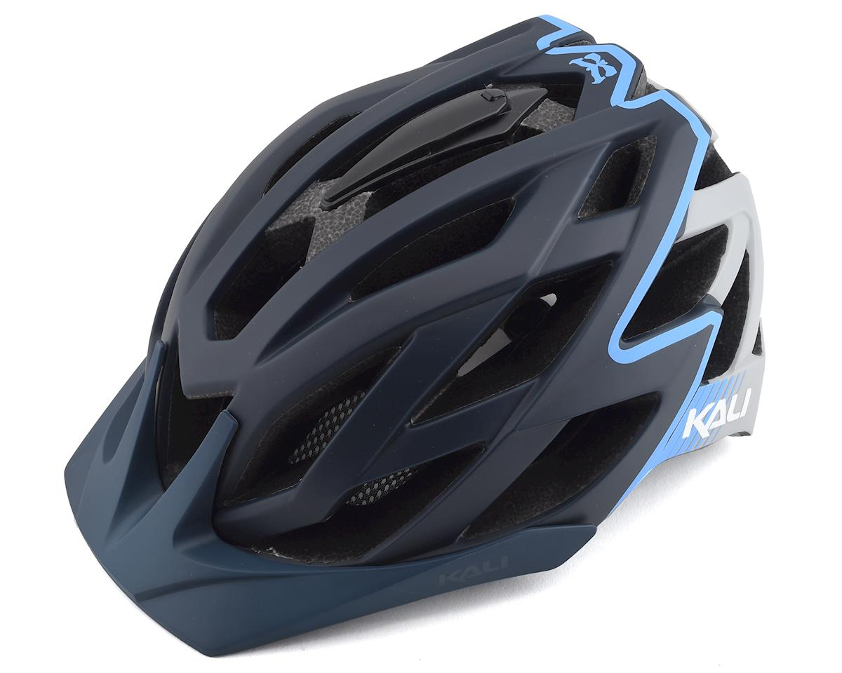 SCRATCH & DENT: Kali Lunati Helmet (Black/Ice) (L/XL)