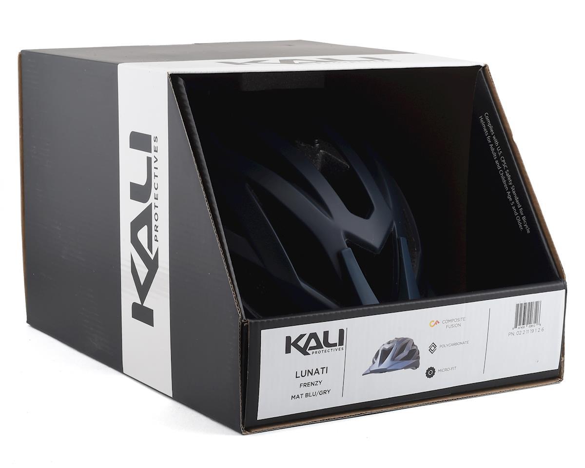 Kali Lunati Helmet (Black/Ice) (L/XL)