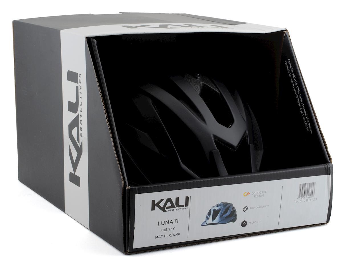 Kali Lunati Helmet (Matte Black/Khaki) (S/M)