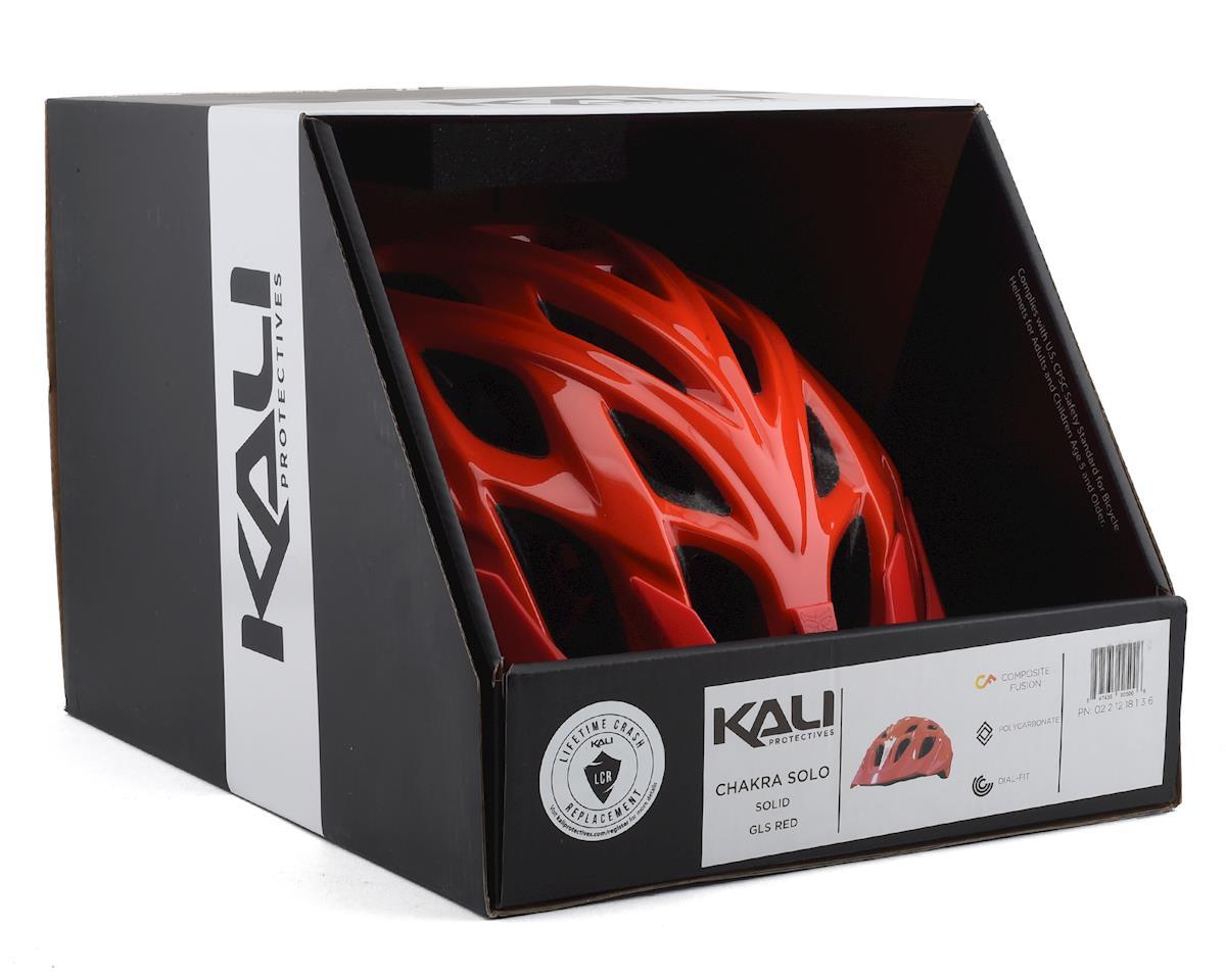 Kali Chakra Solo Helmet (Red) (S/M)