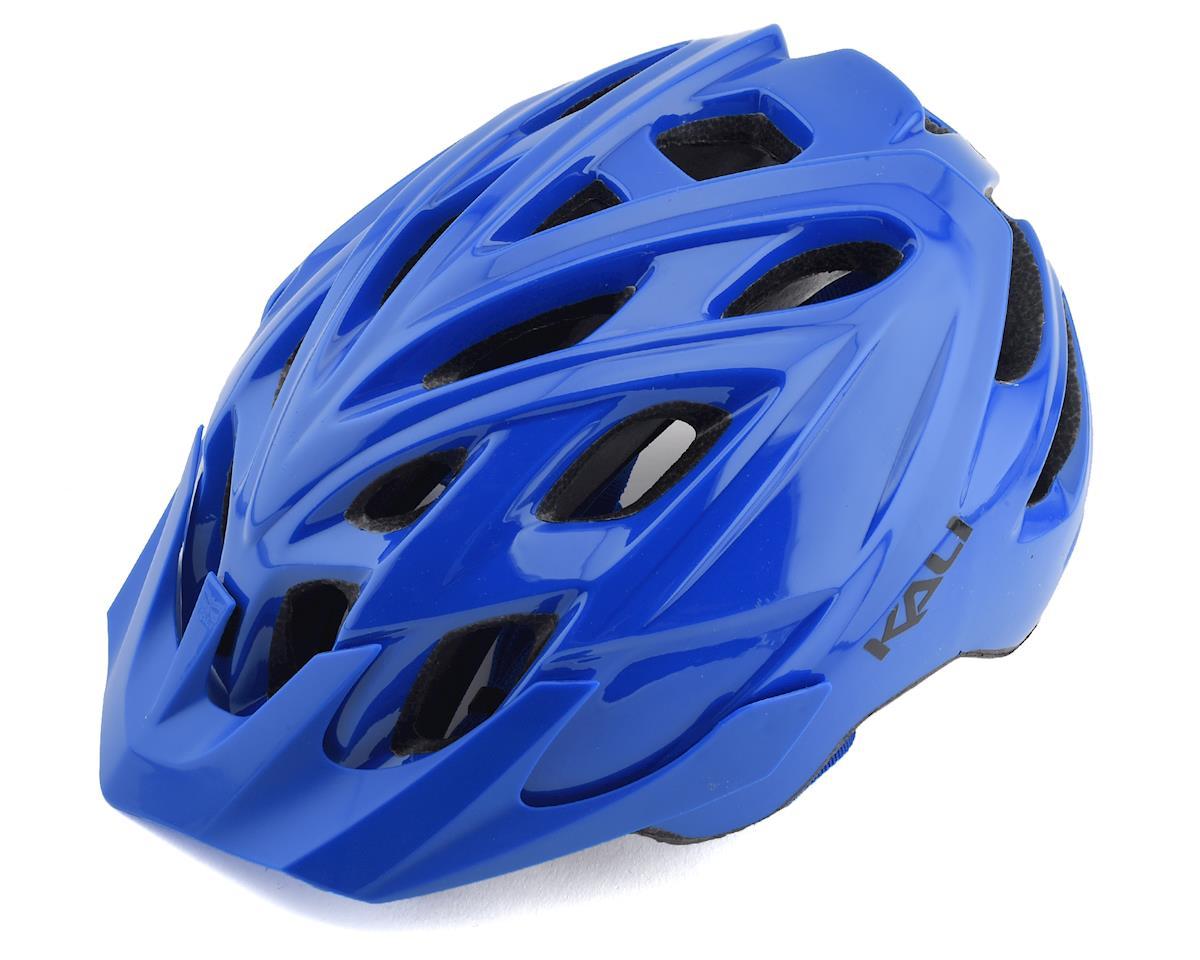 Kali Chakra Solo Helmet (Solid Gloss Blue) (L/XL)