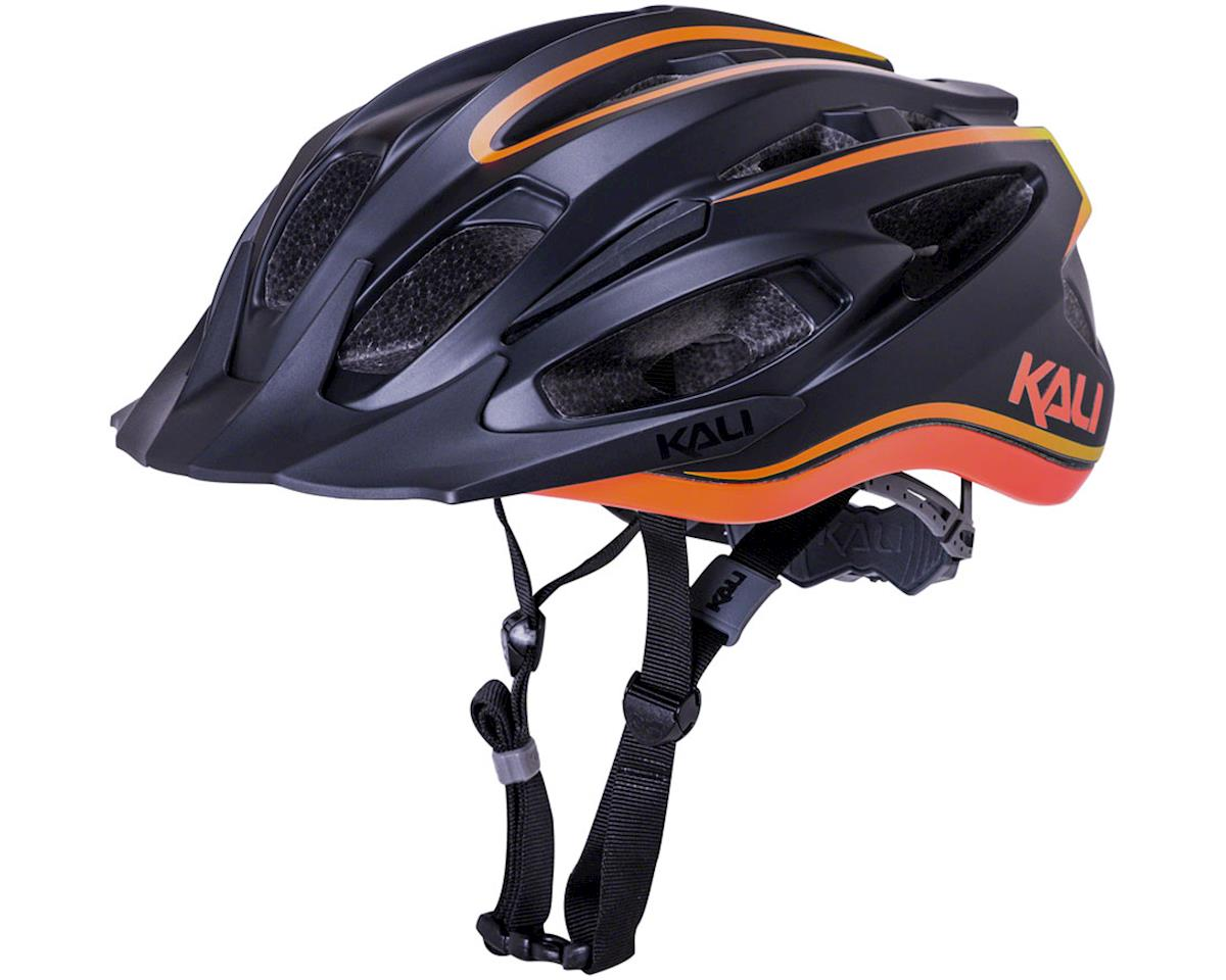 Kali Alchemy Helmet (Matte Orange/Black)