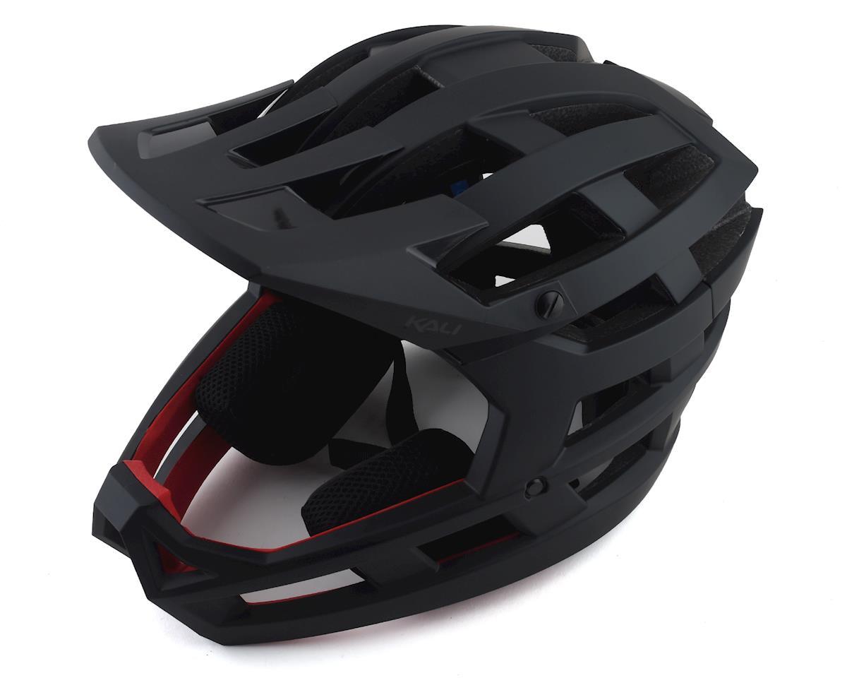 Kali Invader Helmet (Solid Matte Black)