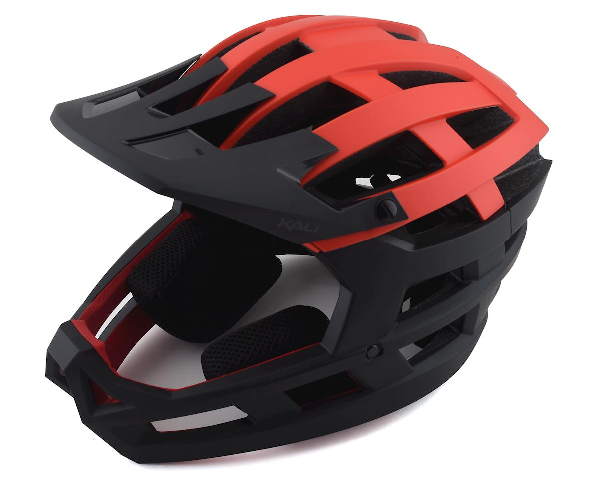 Kali Invader Helmet (Solid Matte Red/Black)