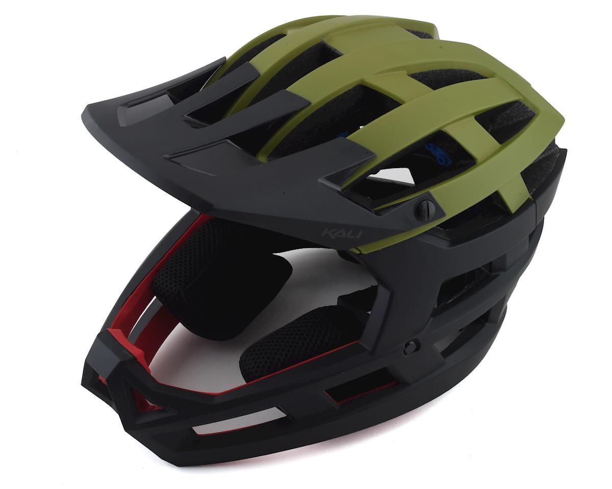 Kali Invader Helmet (Solid Matte Khaki/Black) (XS/M)