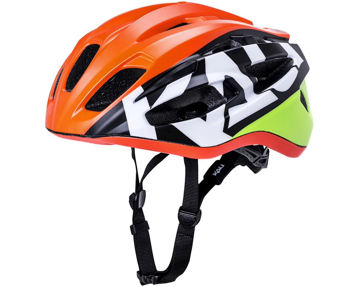 Kali Therapy Helmet (Orange/Yellow) (L/XL)