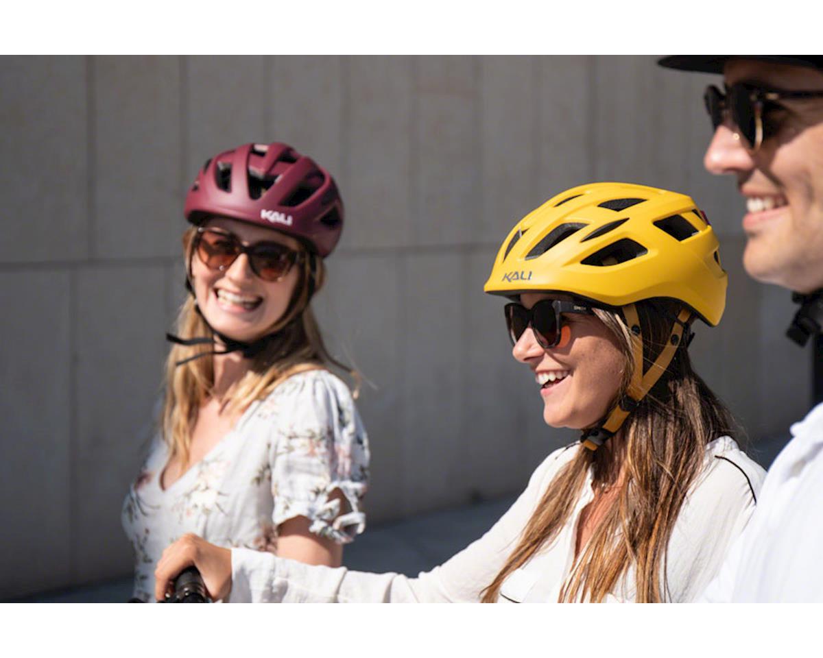 Kali Central Helmet (Solid Matte Grey) (L/XL)
