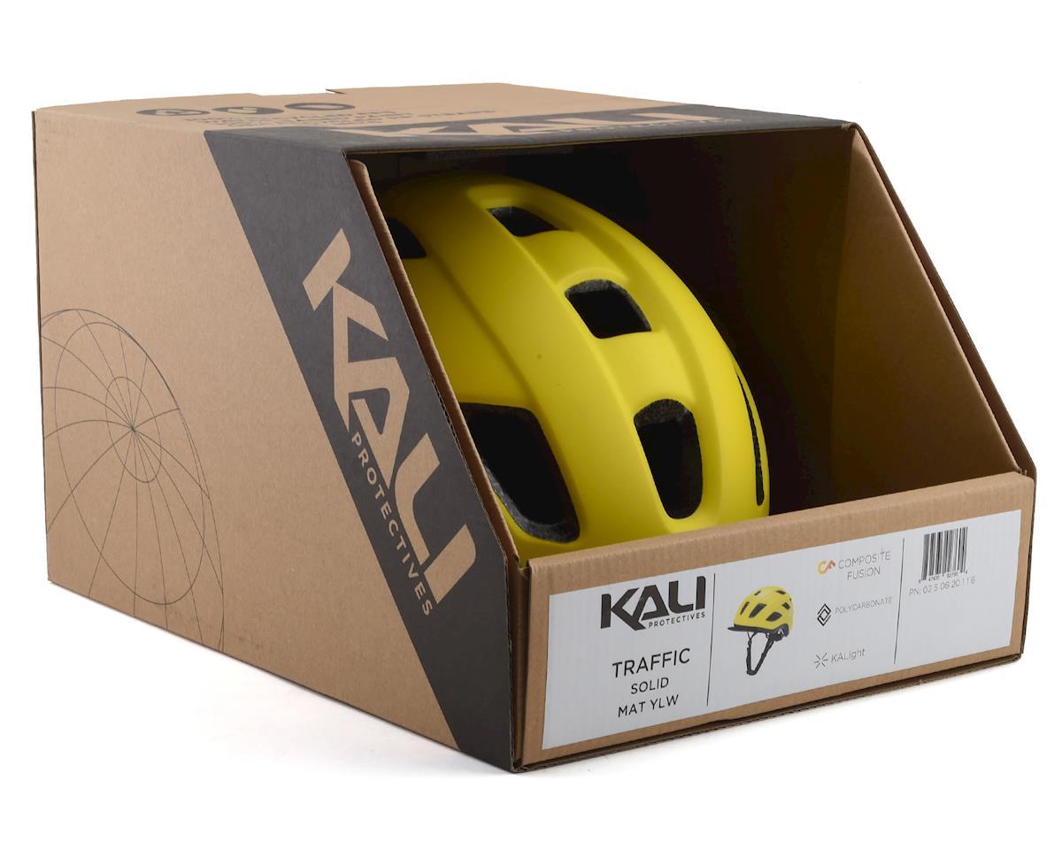 Image 4 for Kali Traffic Helmet (Solid Matte Yellow) (L/XL)