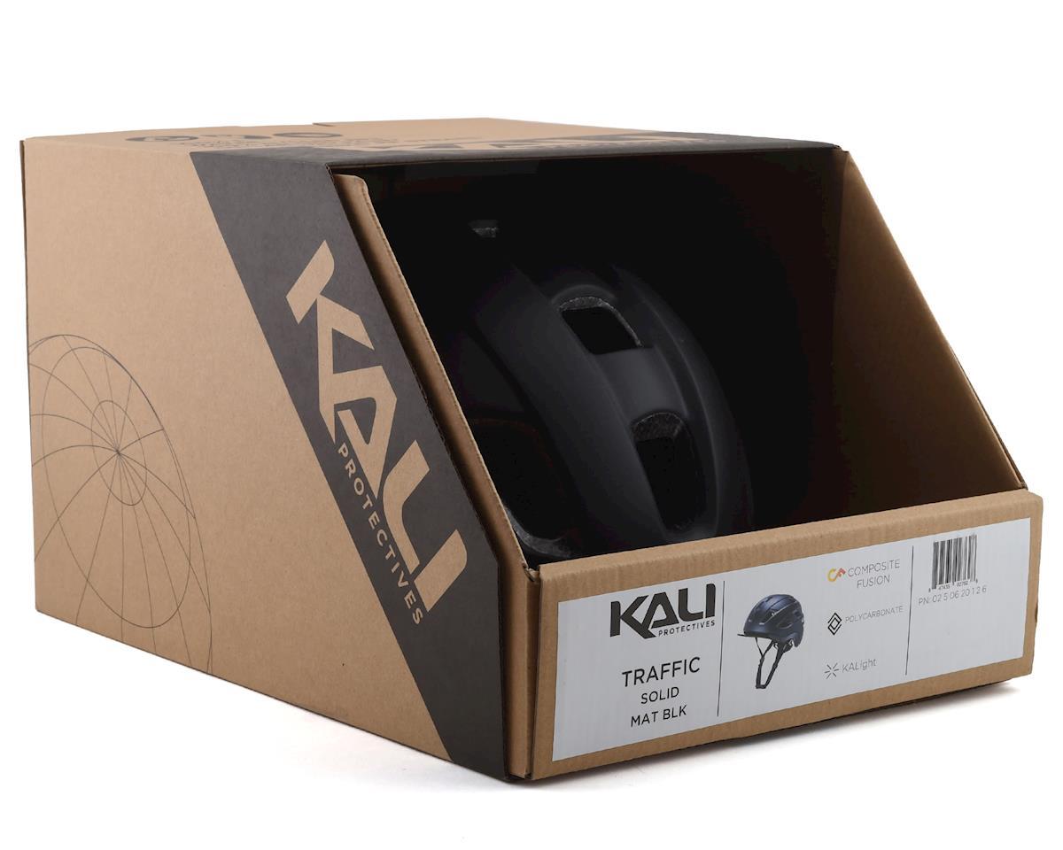 Image 4 for Kali Traffic Helmet (Solid Matte Black) (S/M)