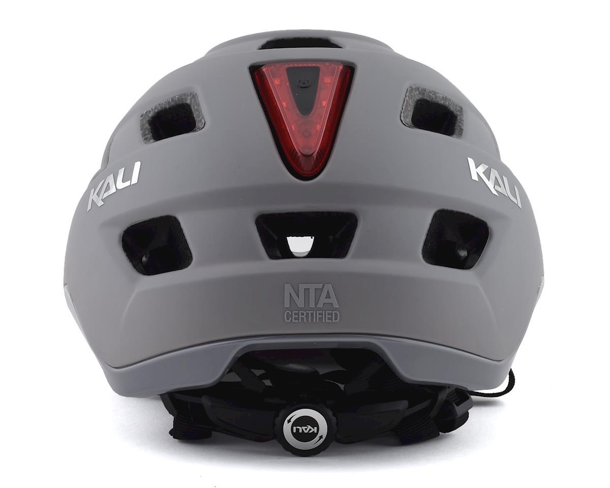 Image 2 for Kali Traffic Helmet (Solid Matte Grey) (S/M)