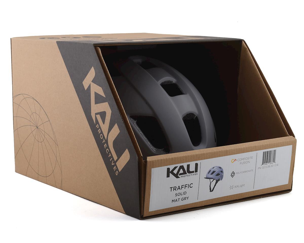 Image 4 for Kali Traffic Helmet (Solid Matte Grey) (S/M)