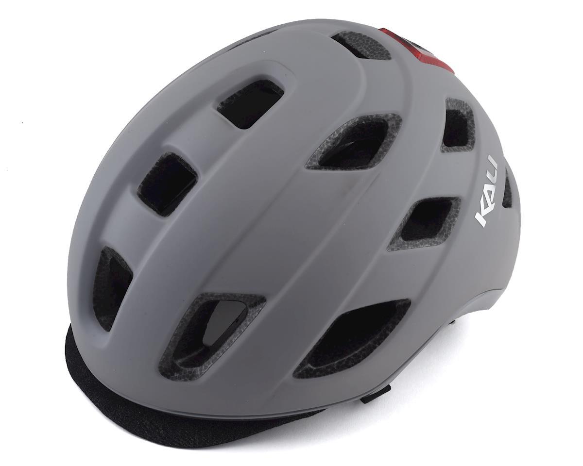 Kali Traffic Helmet (Solid Matte Grey) (L/XL)