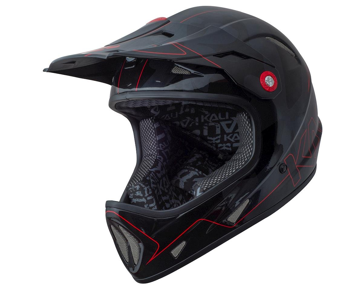 Kali Avatar Full Face Helmet (Team Red) (L)