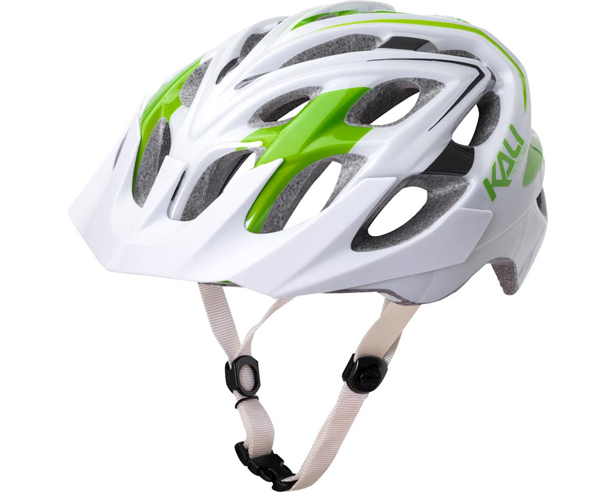 Kali Protectives Chakra Plus Helmet (Sonic White/Green)