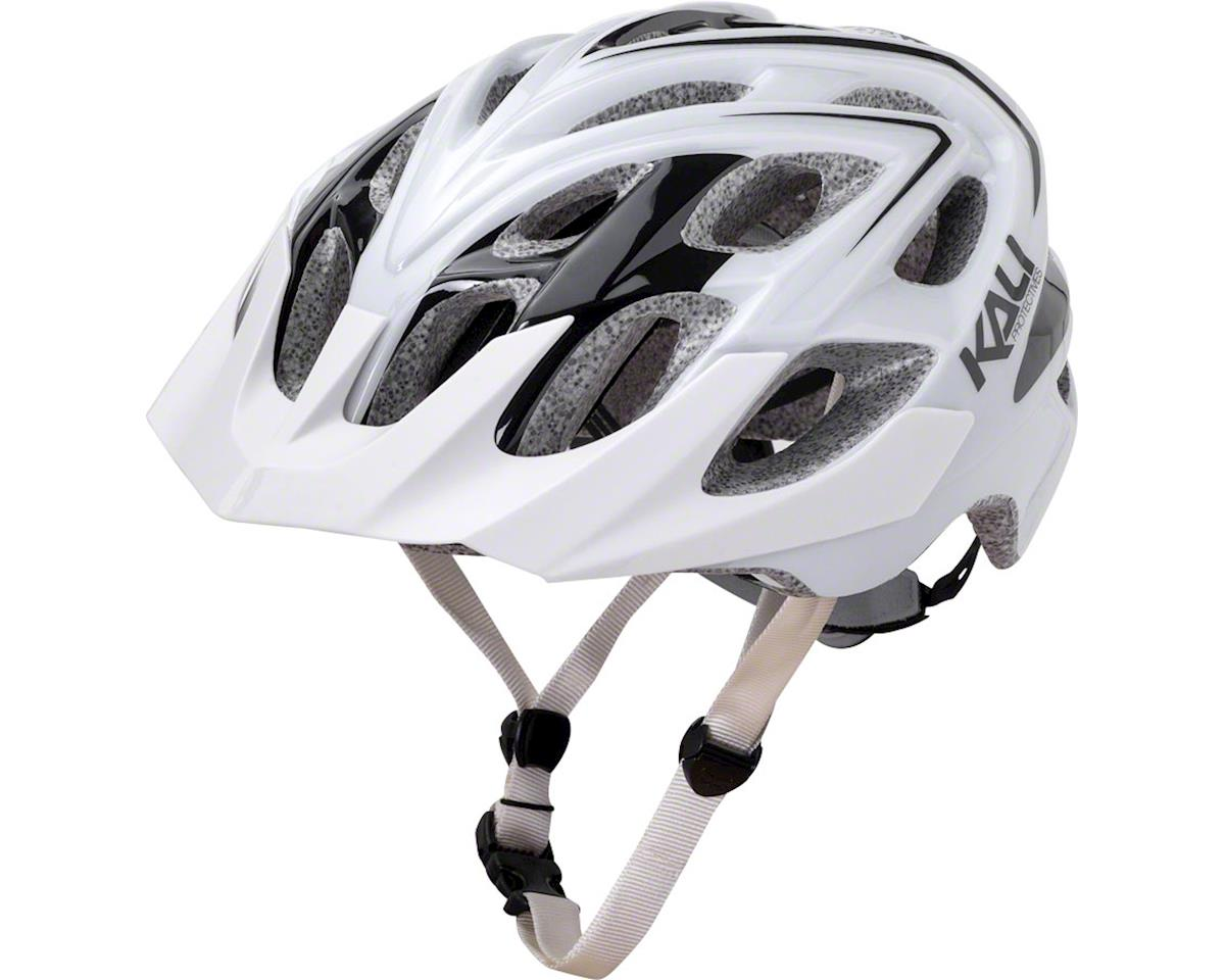 Kali Protectives Chakra Plus Helmet (Sonic White/Black)