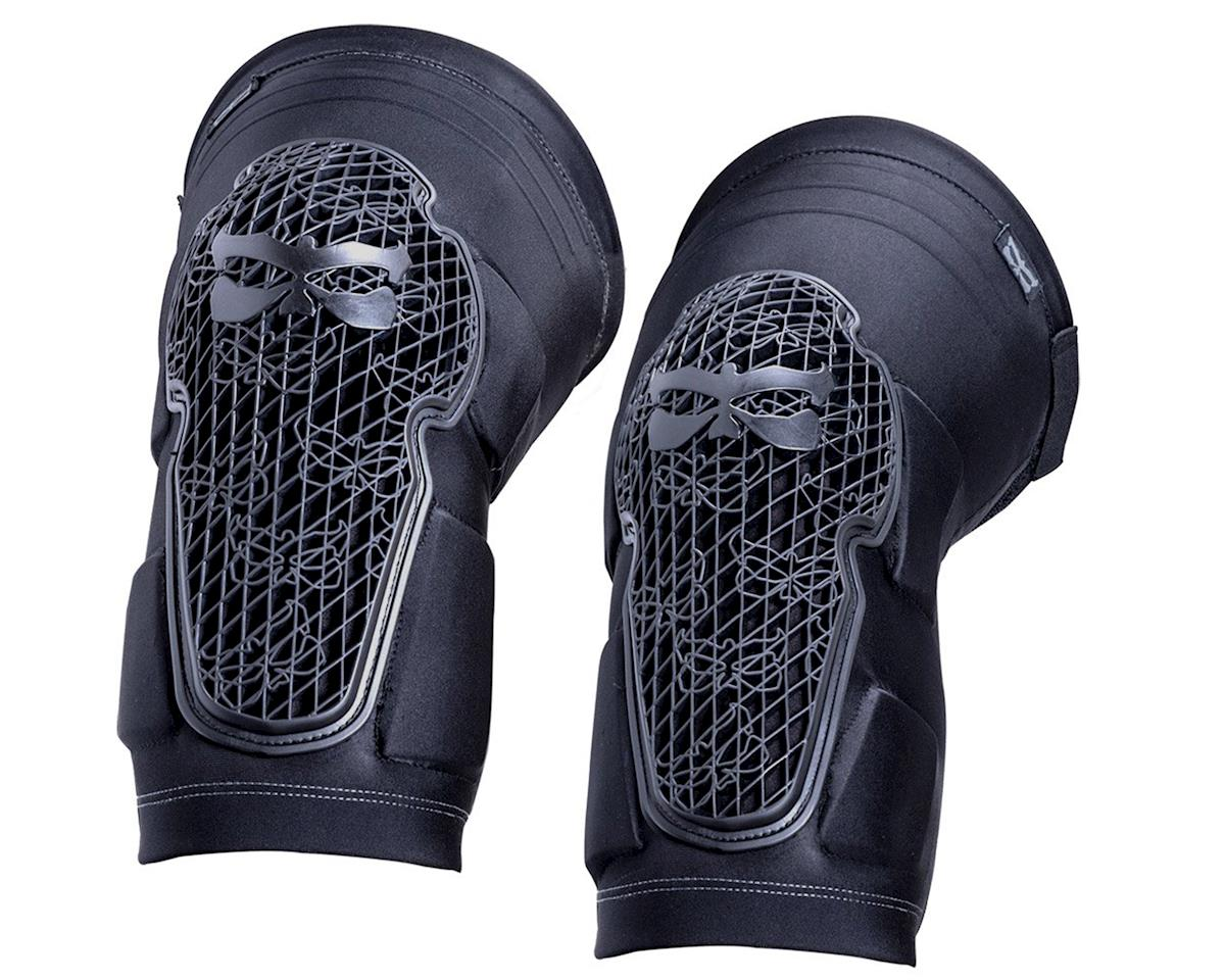 Kali Strike Knee And Shin Guard (Black/Grey) (XL)