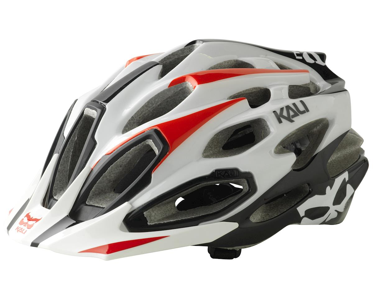 Kali Maraka XC Core Helmet (White/Black/Red) (S/M)