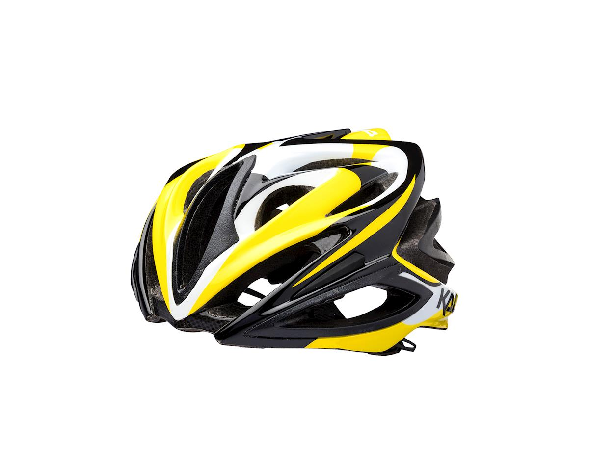 Kali Phenom Orbit Road Helmet (Black/Yellow)