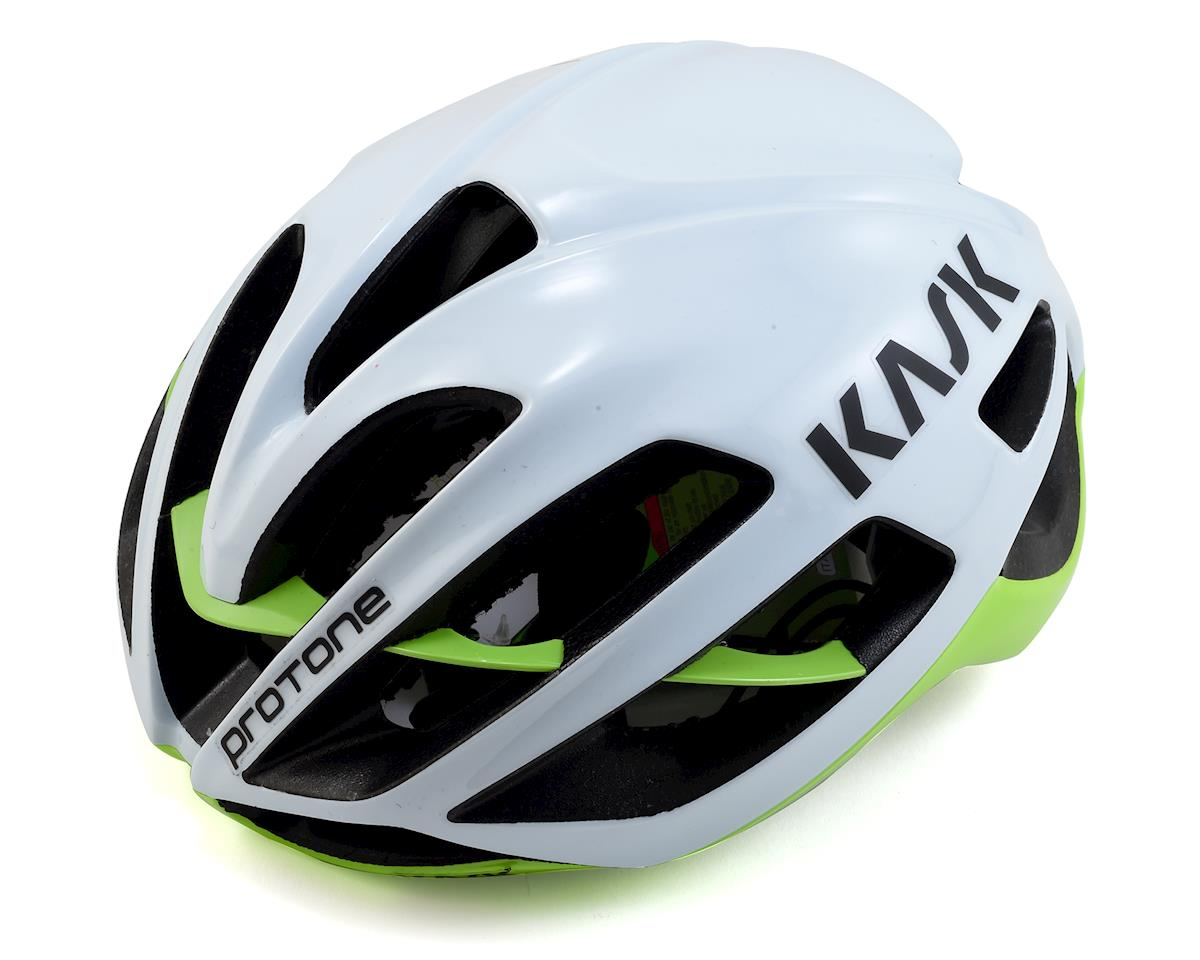 Kask Protone (White/Lime)
