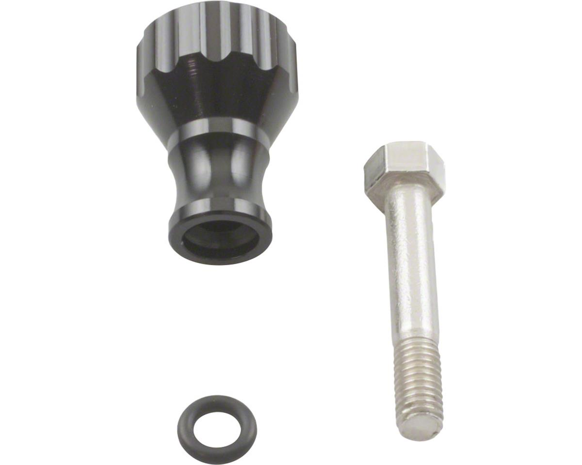 K-EDGE Go Big Thumb Screw for Action Camera or Light: Aluminum, Black