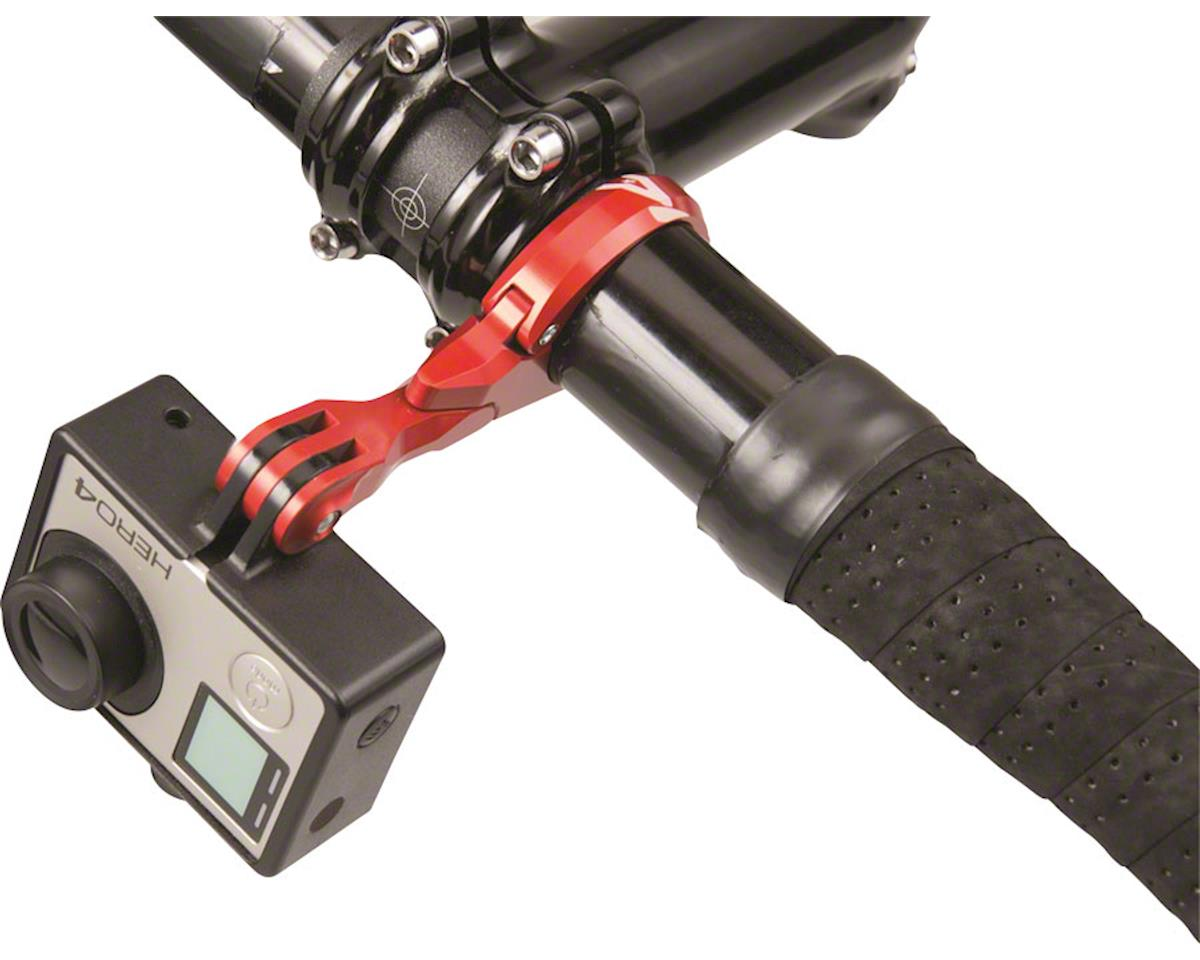 Image 3 for K-Edge Go Big Pro Universal Action Camera & Light Mount (Gun Metal) (31.8mm)
