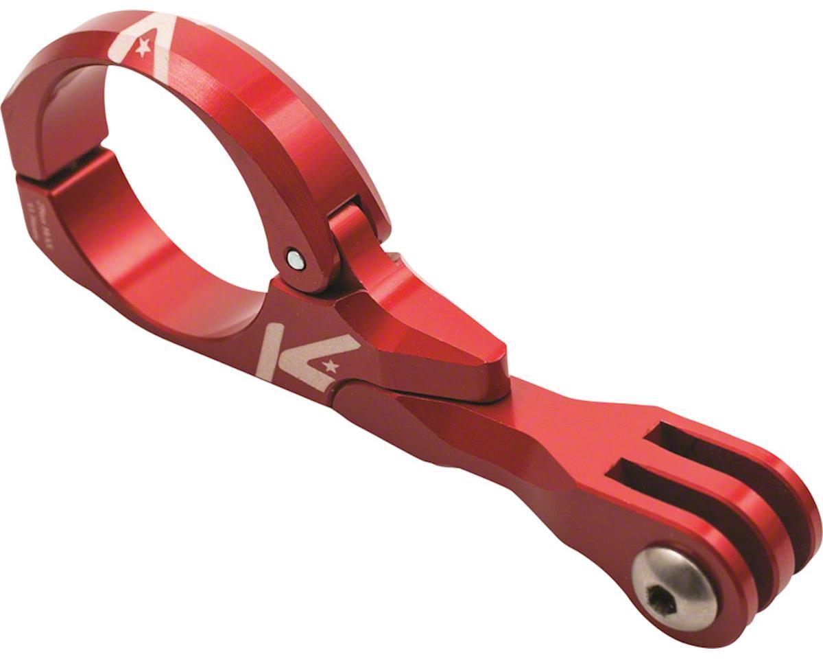 K-EDGE Go Big Pro Universal Action Camera Light On-Center Handlebar 31.8mm Red