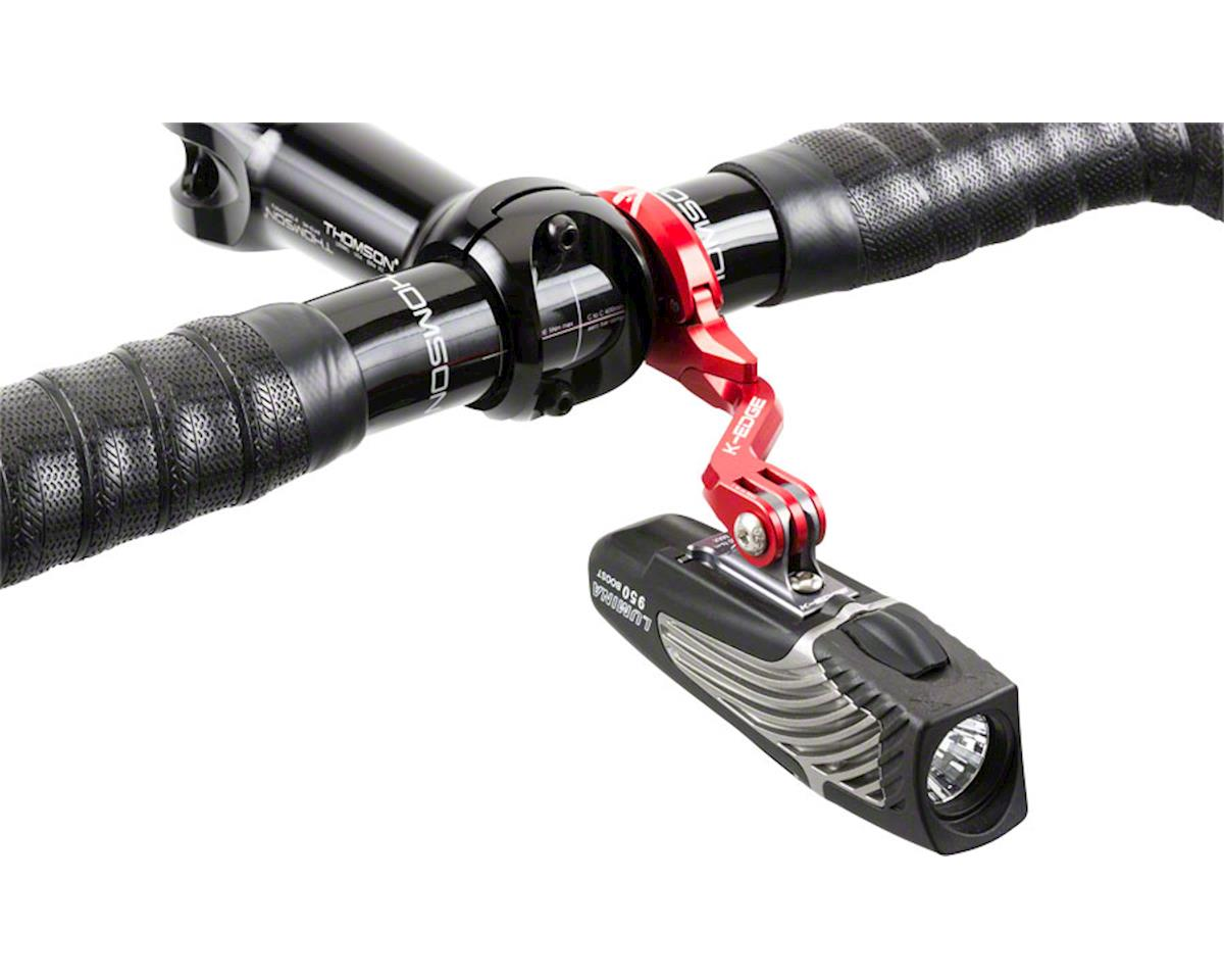 K-EDGE Go Big Pro Universal Action Camera and Light On-Center Handlebar Mount 31