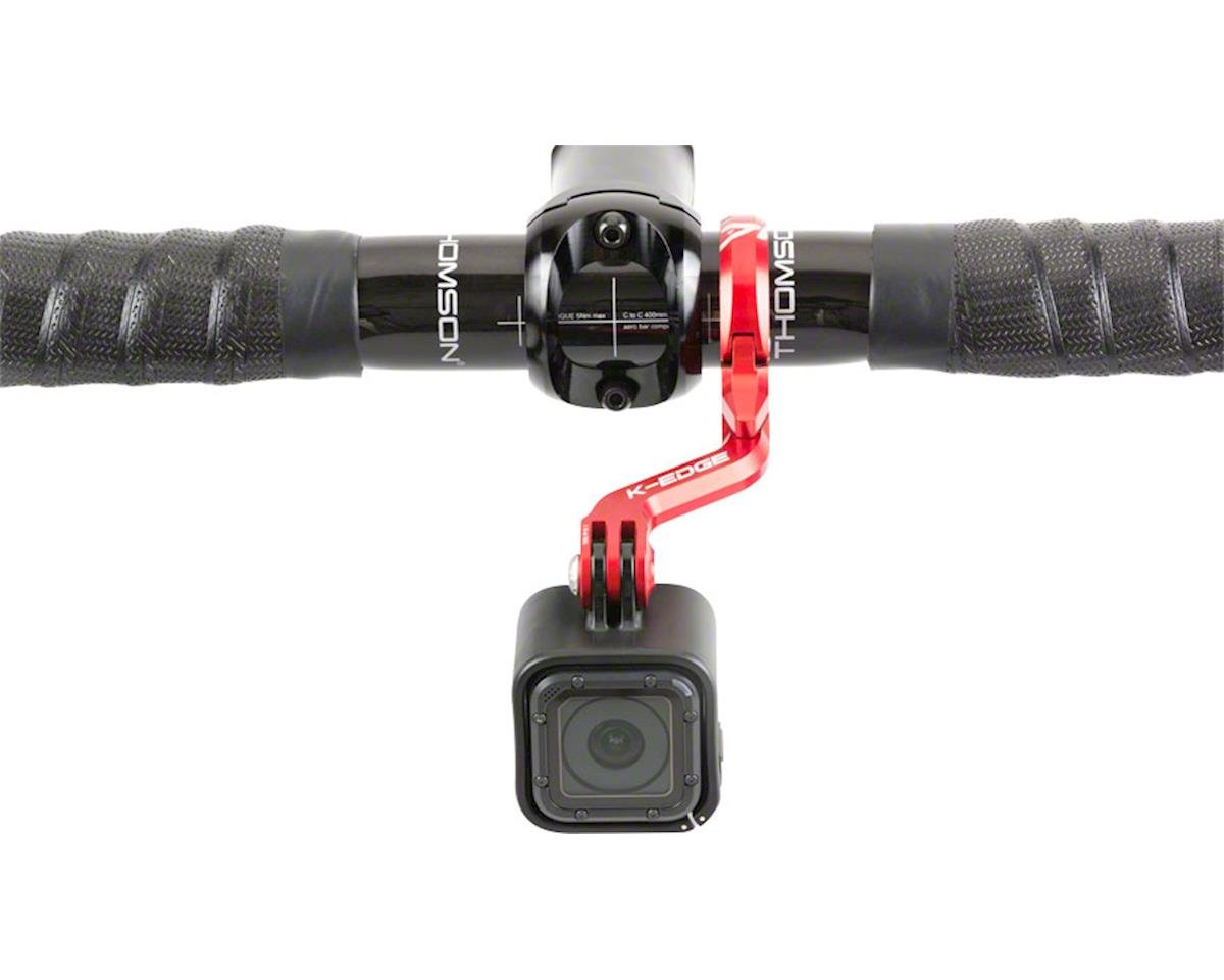 K-EDGE Go Big Pro Universal Action Camera and Light On-Center Handlebar Mount 35