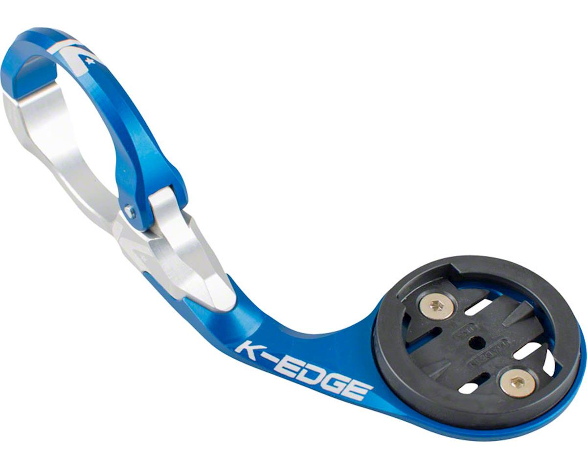 K-Edge Garmin Race Handlebar Mount (Blue/Silver) (31.8mm)