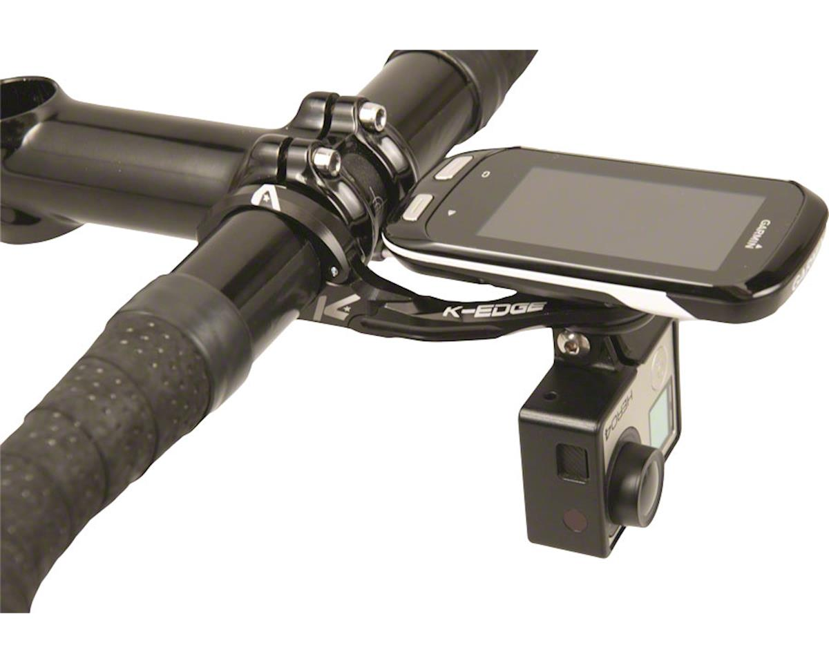 K-Edge Pro Garmin XL Combo Handlebar Mount (Black) (35mm)