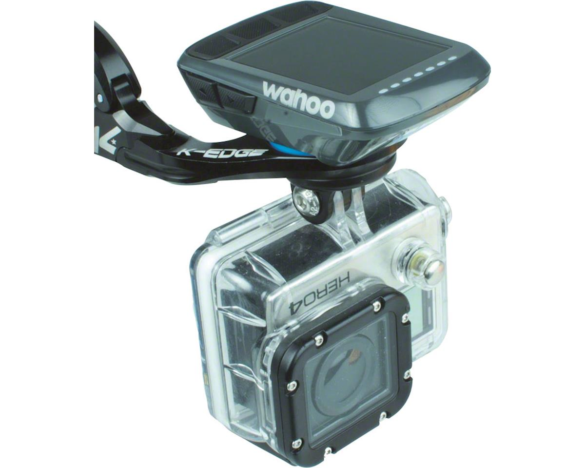 K-EDGE Wahoo Bolt Combo Handlebar Mount, 31.8mm, Black