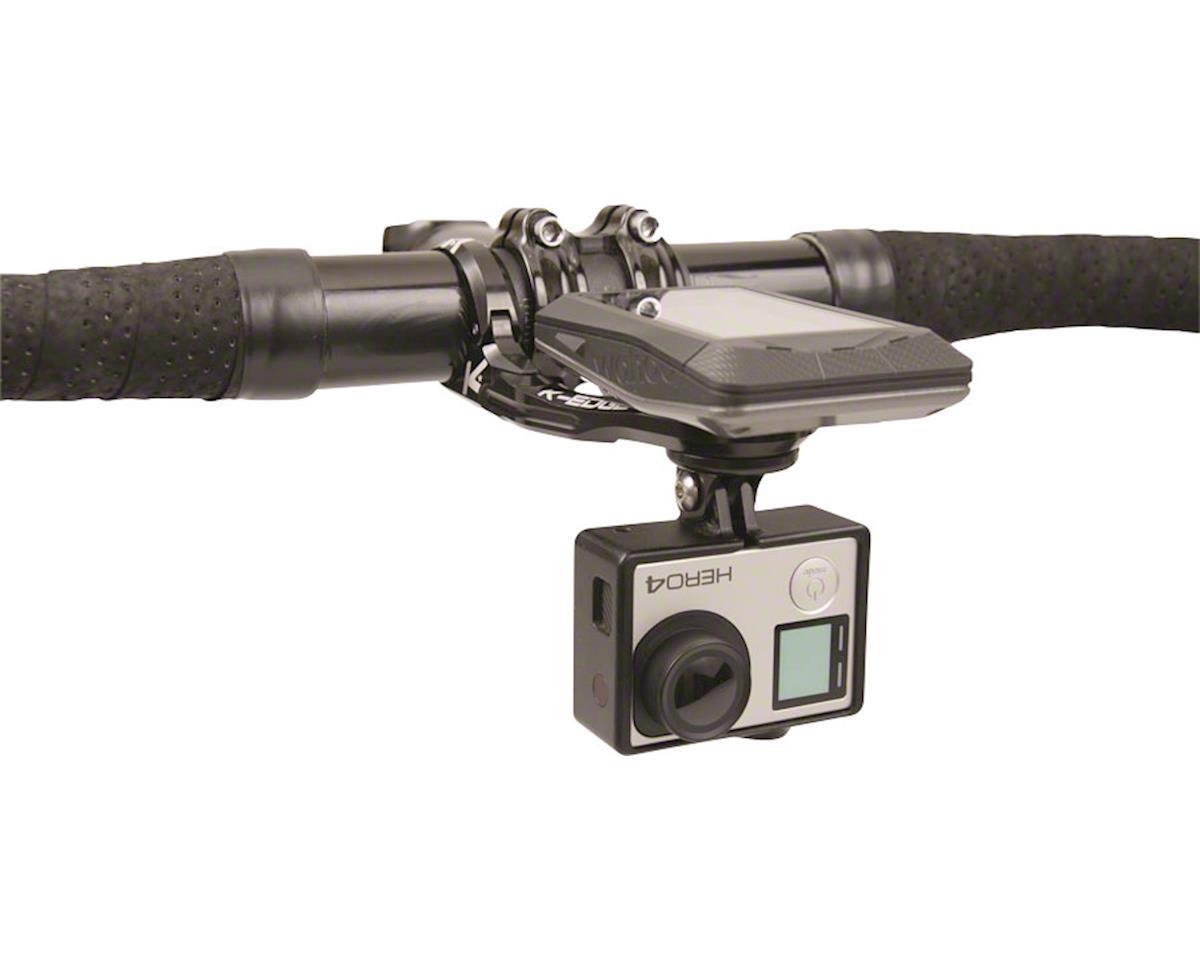 K-EDGE Wahoo ELEMNT Combo Handlebar Mount, 31.8mm, Black