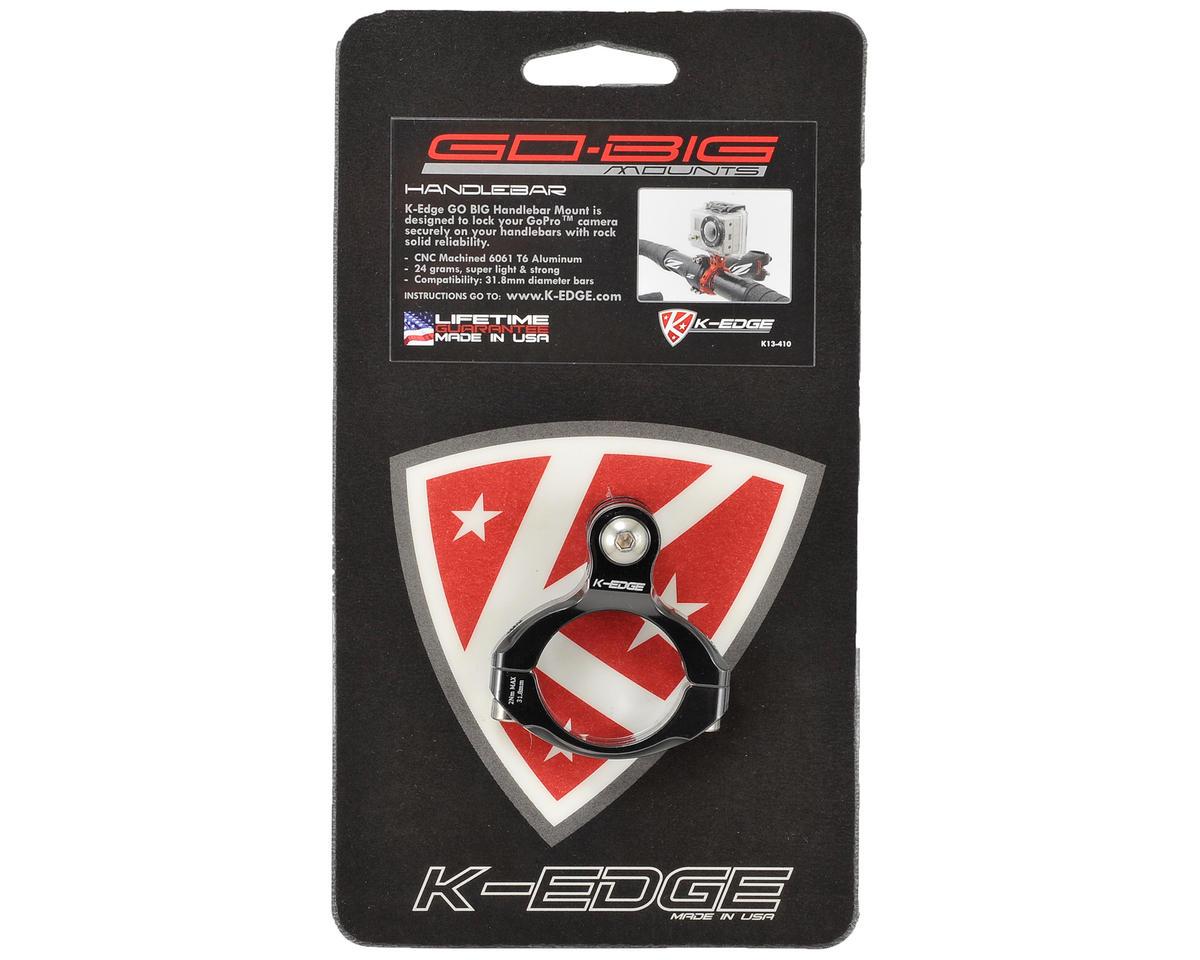 K-Edge Go Big Handlebar Camera Mount (Black) (GoPro)